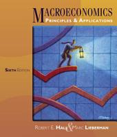 Macroeconomics: Principles and Applications: Edition 6
