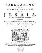 Verklaring van de profeetsyen van Jesaia: Volume 2