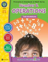 Number & Operations - Task Sheets Gr. 6-8