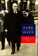 Dark and Hurrying Days