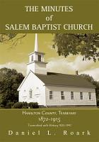 The Minutes of Salem Baptist Church PDF