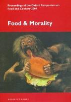Food and Morality PDF