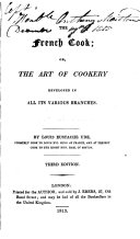 The French Cook, Or, The Art of Cookery