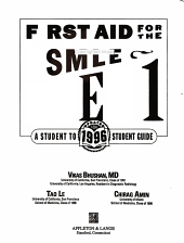 1996 First Aid for the USMLE Step 1 PDF