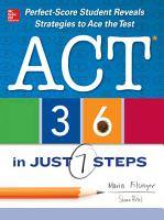 ACT 36 in Just 7 Steps PDF