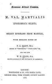 Epigrammata selecta: select epigrams from Martial