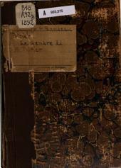 Le gendre de m. Poirier: comédie en quatre actes, en prose