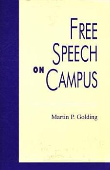 Free Speech on Campus PDF