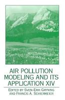 Air Pollution Modeling and its Application XIV PDF