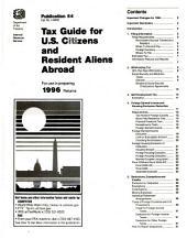 Overseas Filers of Form 1040, Supplemental Package
