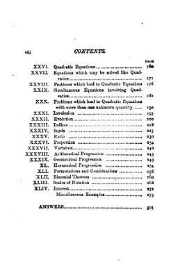 Algebra for Beginners PDF