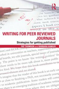 Writing for Peer Reviewed Journals Book