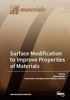 Surface Modification to Improve Properties of Materials PDF