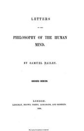 Letters on the philosophy of the human mind: Second series