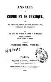 Annales de chimie et de physique: Volume60