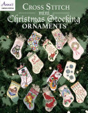 Cross Stitch Mini Christmas Stocking Ornaments PDF