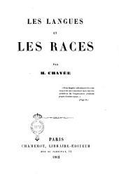 Les langues et les races par H. Chavée
