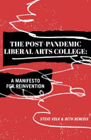 The Post Pandemic Liberal Arts College PDF