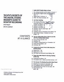 Techtv S Secrets Of The Digital Studio