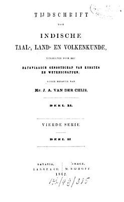 Tijdschrift voor Indische taal   land  en volkenkunde PDF