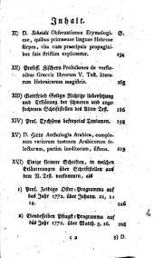 Orientalische und exegetische Bibliothek: Teil 5