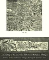 Abhandlungen der Akademie der Wissenschaften zu Göttingen: Philologisch-Historische Klasse, Band 9