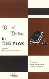 Baptist Doctrine in One Year