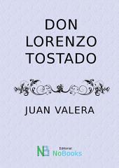 Don Lorenzo Tostado