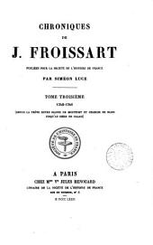 Chroniques de J. Froissart: Volume3