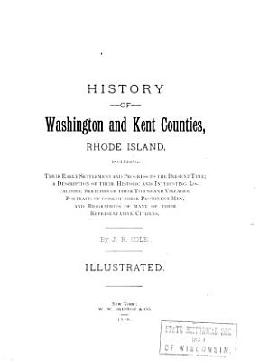 History of Washington and Kent Counties PDF