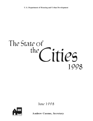 The State of the Cities PDF