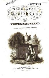 Nagelaten gedichten van Pieter Nieuwland