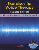 Exercises for Voice Therapy Book