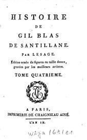 Histoire De Gil Blas De Santillane: Volume4