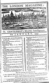 The London Magazine, Or, Gentleman's Monthly Intelligencer: Volume 46