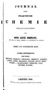 Journal für praktische Chemie: Bände 57-58