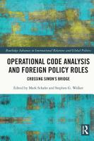 Operational Code Analysis and Foreign Policy Roles PDF