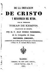 De la imitación de Cristo y menosprecio del mundo
