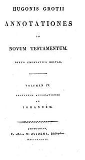 Annotationes in Novum Testamentum: Johannem
