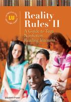 Reality Rules II  A Guide to Teen Nonfiction Reading Interests PDF