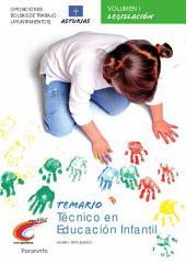 Temario Oposiciones / Bolsa de Trabajo (ayuntamientos) Técnico en Educación Infantil. Asturias Vol. i Parte General