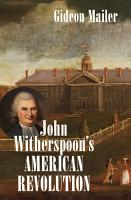John Witherspoon s American Revolution PDF