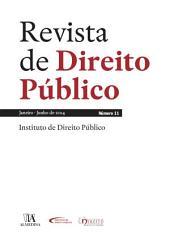 Revista de Direito Público - Ano VI, N.o 11 - Janeiro/Junho de 2014