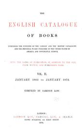 The English Catalogue of Books ...: Volume 2