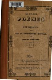 Les dix-huit poèmes de Beethowen: essai sur le romantisme musical