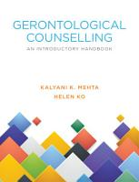 GERONTOLOGICAL COUNSELLING PDF