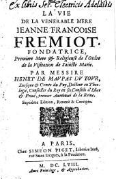 La Vie de la venerable Jeanne Françoise Fremiot de Chantal