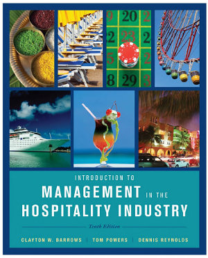 Introduction to Management in the Hospitality Industry  10th Edition PDF