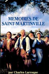 Memoires De St. Martinville: Translated Into French
