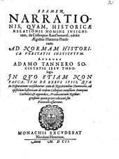 Examen narrationis quam historicae relationis nomine insignitam de colloquio Ratisbonense
